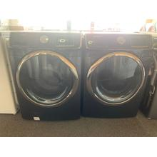Refurbished Grey Samsung Front Load Washer Dryer Set. Please call store if you would like additional pictures. This set carries our 6 month warranty, MANUFACTURER WARRANTY AND REBATES ARE NOT VALID (Sold only as a set)