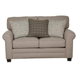 See Details - Farmhouse Casual Loveseat Cement
