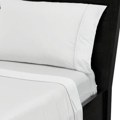 HYPER-COTTON QUICK DRY PERFORMANCE SHEETS White