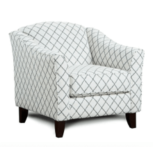 View Product - Muse Blue Accent Chair