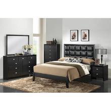 Carolina Black 5 Piece Bedroom