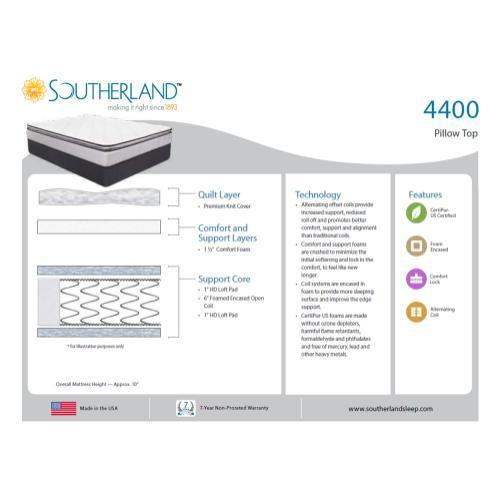 Southerland - 4400 - Pillow Top