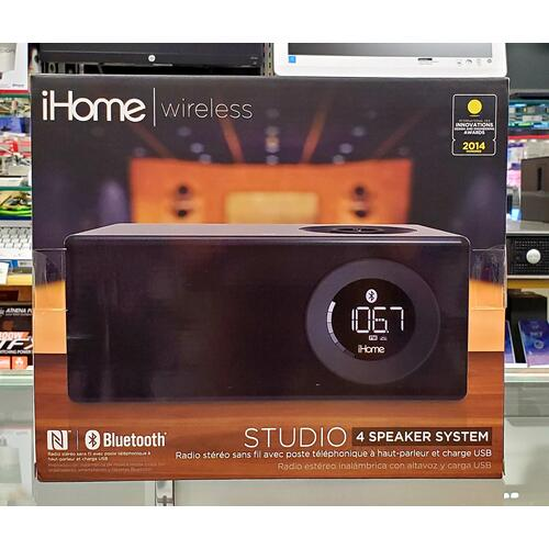 Wireless Stereo Radio w/ Bluetooth