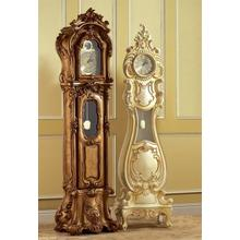 Grandfather clock model 409-A (left) 406-A (right)