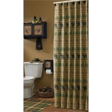 Bear Tracks Shower Curtain