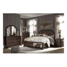 Ashley Ashley Adinton King Bedroom Set: King Bed, Nightstand, Dresser & Mirror