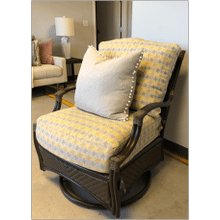 Summer Classics Outdoor Swivel Glider