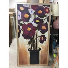 See Details - Framed Wall Art - Flower