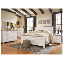 B267 Queen Panel Bed, Chest, and Nightstand (Willowton)