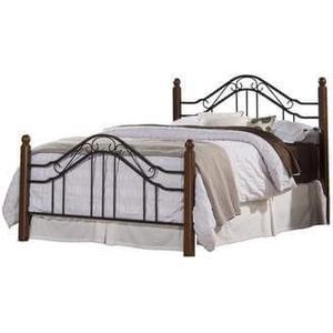 Madison Metal & Wood Bed