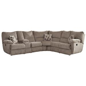 Elliot Pewter Lay Flat Reclining LSF/RSF