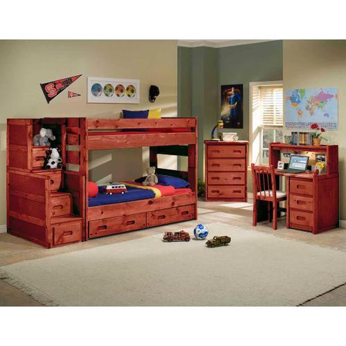 Trendwood - Wrangler Twin/Twin Bunkhouse (Bunk Bed Only)