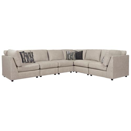 Kellway - Bisque - 6-Piece Sectional