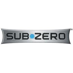 "Subzero84"" Finished Height SS Panel w/Tubular Handle for IW24 Wine Storage - LH"