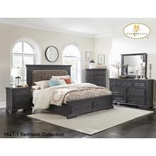 1647-1 Contemporary Platform Storage Bedroom Collection