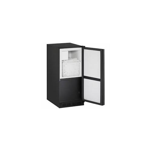 """U-Line - SAVE OVER $900 for this U-Line 1000 Series 15"""" Crescent Ice Maker -Panel Ready / Field Reversible Door Swing (115 Volts / 60 Hz) / Swapped for Clear Ice Maker - FULL WARRANTY (IMAGE SHOWN WITH CUSTOM PANEL)"""
