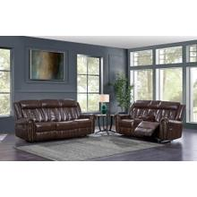 Console Reclining Loveseat	Chocolate
