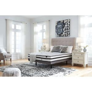 "Scott-1 Queen 10"" Hybrid Innerspring Mattress with Head Adjustable Power Base Option"