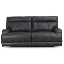 POWER RECLINING SOFA WITH POWER HEADREST in SLATE GREY    (WARE-5183-3)