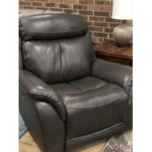 See Details - Jonathan Grey Leather Power Recliner