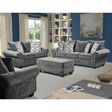 See Details - Artesia Granite Sofa / Loveseat 2pc LR Group