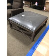Large grey Ottoman--perfect for entertaining! $399