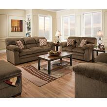 See Details - Harlow Chestnut 3PC Set: Sofa, Loveseat & Chair (3683)