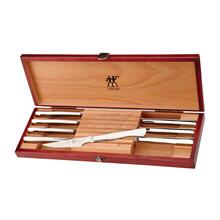 Zwilling Stainless Steel Steak knife Set with Presentation Case, 8-Piece