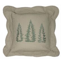 "Bear Creek ""Tree"" Throw Pillow"