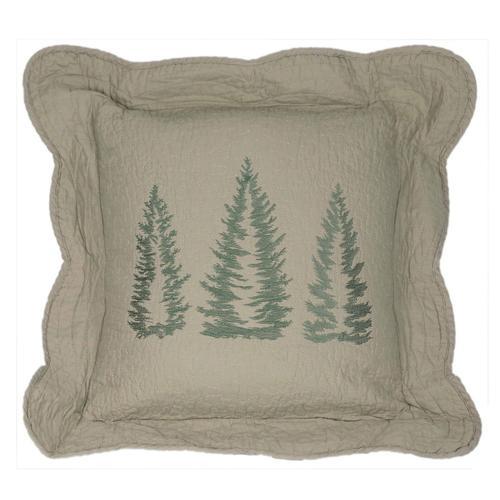 "Bear Creek ""Tree"" Throw Pillow"