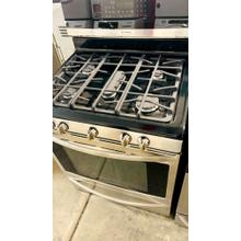 """Product Image - USED-  30"""" Free-Standing Stainless Gas Range- G30SSSTV-U SERIAL #70"""