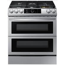 6.0 cu. ft. Slide-In Gas Range with Flex Duo™ & Dual Door in Stainless Steel