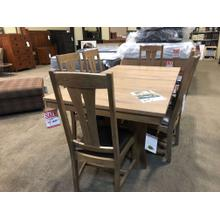 West End Bungalow 7 piece Dining seT----One Available Close out @ $1699