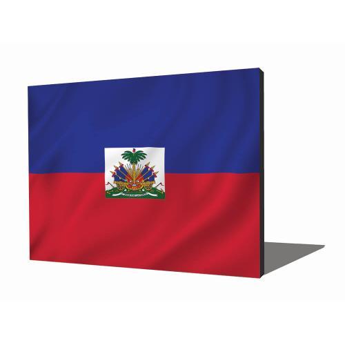 Wall Art - Haitian Flag