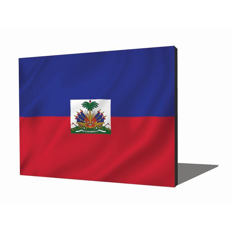 View Product - Wall Art - Haitian Flag