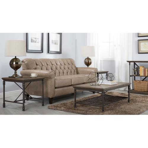 3478 Leather Sofa