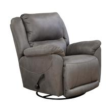 See Details - Charcoal Swivel Glide Recliner
