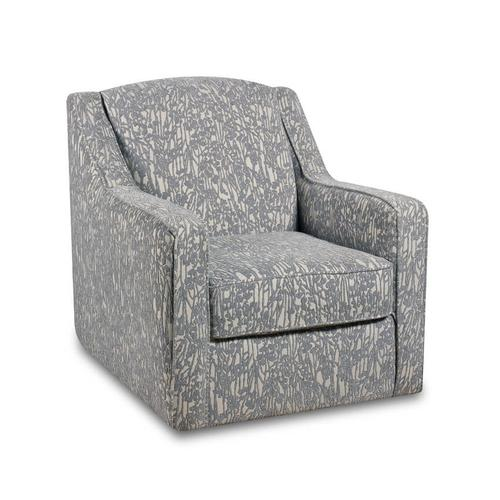 BEHOLD 4840-6825-1598-10 Oliver Sand Grey Swivel Accent Chair