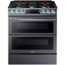 Samsung 30 inch Slide In Gas Range with Flex Duo Doors