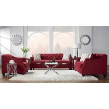 Transitional Modern Loveseat