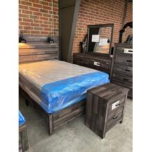 See Details - King Bed, Dresser, Mirror, Chest, and Nighstand