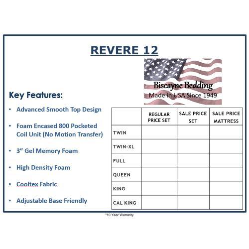 Biscayne Bedding - Revere 12