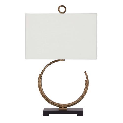 Ashley Furniture - Jaslene Antique Gold Lamp