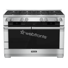 HR 1954 DF 48 inch range Dual Fuel with M Touch controls, Moisture Plus and M Pro dual stacked burners