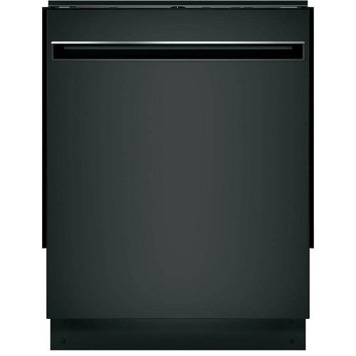 GE 51dBA Black Top Control with Stainless Tub Dishwasher