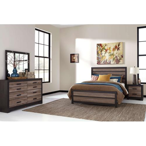 Packages - Harlinton Queen Bed Dresser and Mirror