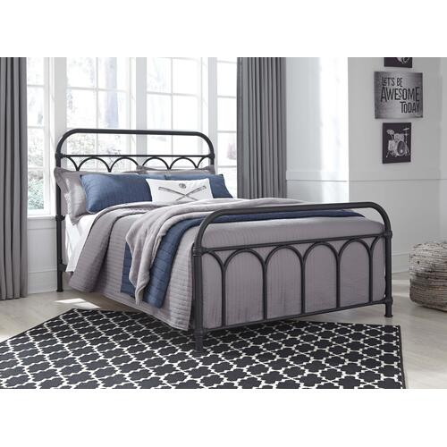 Nashburg Metal Bed - Full