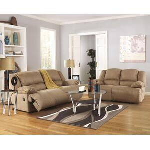 Hogan- Mocha Reclining Sofa and Loveseat