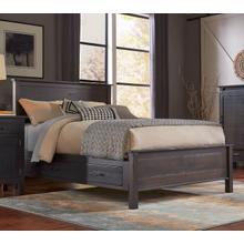 Amish-made Wildwood Queen Storage Bed