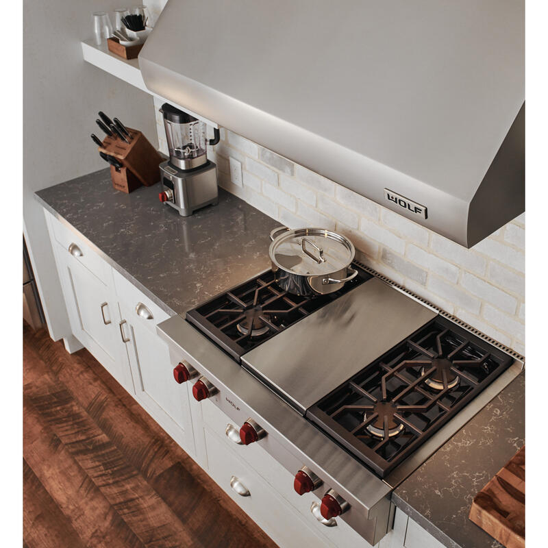 "36"" Sealed Burner Rangetop - 2 Burners and Wok Burner"